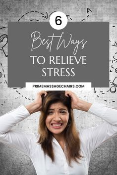 Looking for ways to relieve stress after a long day at work? In this article, we will show you 6 ways you can use to relieve stress and live a stress-free life. Click through to learn more. Ways To Relieve Stress, Massage Benefits, Stress Free, Life