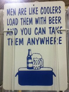 Another sign about BEER
