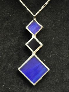 Another stained glass necklace by Jessie at Shattered Designz