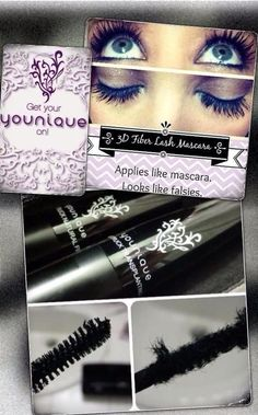Get the look of falsies without the glue, mess or damage! 3D Fiber lashes applies like mascara, look like falsies and Washes away leaving lashes healthier. Order your dream lashes today!!! www.youniqueproducts.com/paigeb