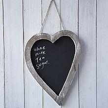 Wooden Heart Chalkboard