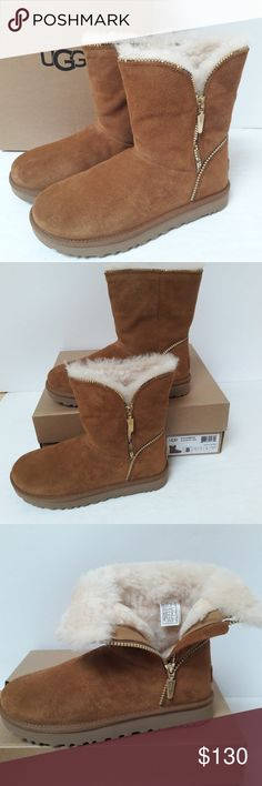 fa9c66b4c New UGG Florence boots Size 8 New in box, stylish UGG Florence boots in  Chestnut