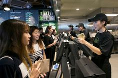 Koreans have been lining up for hours to sample the Seoul outlet of this…