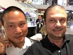 Tony Hsieh, CEO Zappos, JT Ippolito CEO Media MArketing Management.  Discussed how customer service comes first