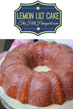 Lemon Lilt Cake is perfect for your 4th of July cookouts! Save this delicious dessert recipe for your next holiday meal!