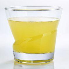 Verre à eau en verre transparent déformé - Set de 6 LIMA