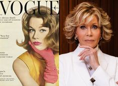 60 Years After Her First Vogue Cover, Jane Fonda on Acting, Activism, and Having No Regrets - Vogue Vogue Covers, Jane Fonda, Badass Women, American Soldiers, African American Women, Famous Women, Female Images, Mug Shots, Fashion History