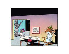 Super Snooper  1963 style Detective spoof Hanna Barbera productions   sericel