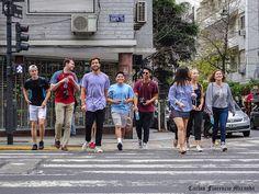 FOTOS SIN PORQUE: Fotografía grupal en movimiento.