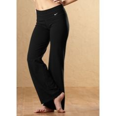 Nike Regular Dri-Fit Cotton Pant - Womens