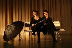 Eva Morais e Eliana Ribeiro