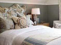 Cottage Kitchen with Black Tabletop Island and White Cabinets : Designers' Portfolio : HGTV - Home & Garden Television