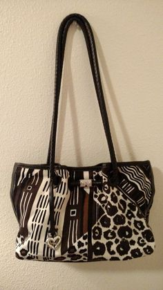 Brighton Numbered handbag** Black/Brown/White **Free Gift Included!** #Brighton #ShoulderBag