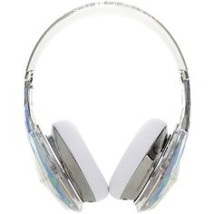 "MONSTER ""Diamond Tears Edge"" Headphones (24.150 RUB) ❤ liked on Polyvore featuring headphones, accessories and fillers"