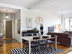 Inspiración Deco: Un piso nórdico en BLANCO Y NEGRO | Decorar tu casa es facilisimo.com