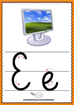 Litera Ee- plansza demonstracyjna FREEEE