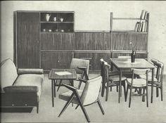 Salon vintage polonais années 60