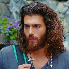 Gorgeous Men, Beautiful People, Hair And Beard Styles, Long Hair Styles, Hairy Hunks, Turkish Men, Beard Lover, Dream Hair, Love Can