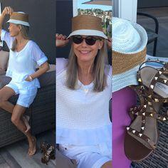 WHEN THE SUN SHINES #Dior#High Panama Hat, Captain Hat, Dior, Sun, Hats, Fashion, Moda, Dior Couture, Hat