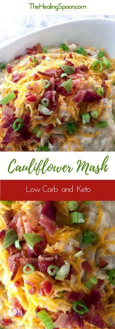 Easy side dish - Low Carb, Keto with Dairy Free option #ketorecipe #cauliflower