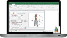 Plantilla Para Diseño de Cimientos Corridos en Excel