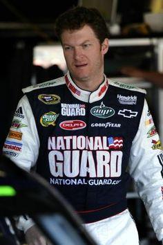 NASCAR Driver Dale Earnhart Jr.