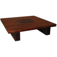La table basse carrée AMAZONE