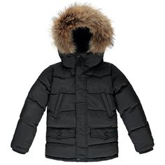 SNOWMOOSE Coal - Unisex Down Parka #boys #down-jackets #fw1617 #girls #solde-hiver #tva_included