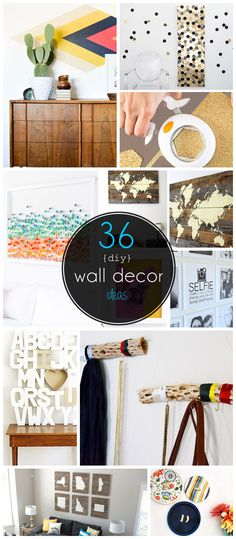 Click Pic for 36 DIY Wall Art Ideas for Living Room | DIY Wall Art Ideas for Bedroom