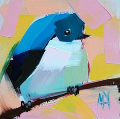 Bluebird no. 73   Angela Moulton