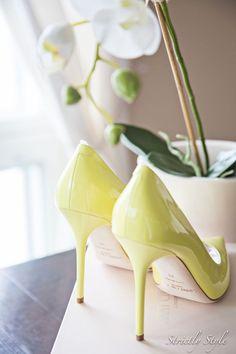 Lemon pumps Jimmy Choo heels #jimmychoobags