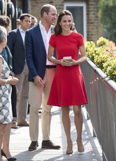 Kate Middleton Photos Photos: The Duke and Duchess of Cambridge Visit YoungMinds…