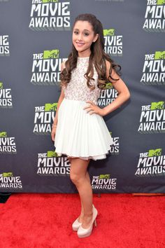 Ariana Grande at the 2013 MTV Movie Awards