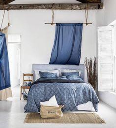 blue summer #bedroom #interiordesign