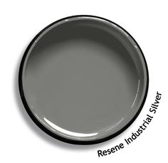 Resene Industrial Silver is a striking silver metallic, sleek and modern. From the Resene Karen Walker Paints colour range. Try a Resene testpot or view a physical sample at your Resene ColorShop or Reseller before making your final colour choice. www.resene.co.nz/karenwalker.htm