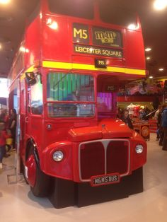 https://flic.kr/p/twgCFY | The sad ending of RML2561 | Here is RML2561 (JJD561D) AEC Routemaster on display in the M&M store in Leicester Square in London.