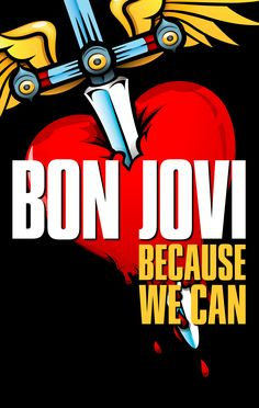 "April 25, 2013 San Jose, HP Pavilion    Bringing rock 'n' roll back to the people, Bon Jovi will hit the road in 2013 to fill stadiums and arenas worldwide with ""BON JOVI Because We Can – The Tour."""