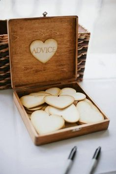IDEA! Create an advice wall/book/collection. Ask lots of older married couples for tips and thoughts helpful throughout marriage. Record them all - even the ones that dont make sense yet. Every anniversary, read through them and see the new purposes and relevance they hold in your marriage.