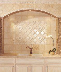 Decorative Backsplashes Kitchens