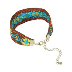 Folk Style Embroidered Bracelet