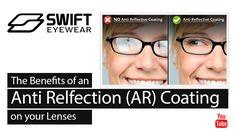 Swift Eyewear™-  the benefits of an AntiReflection (AR) Lens Coating