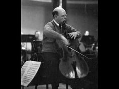 Pablo Casals: Dvorak Cello Concerto - 2nd mvt