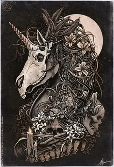 christopher_lovell_dark_nature_unicorn_masquerade