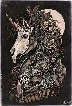 christopher_lovell_dark_nature_unicorn_masquerade