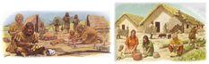 TOUCH this image: Praatplaat tijdvak 1 - Jagers en boeren by JufYvon