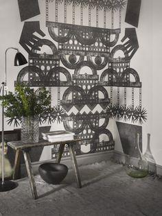 Totem - Fototapeter & Tapeter - Photowall