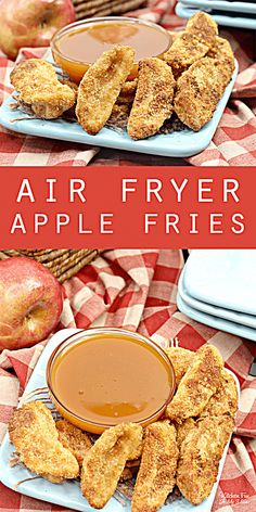Air Fryer Apple Fries with caramel sauce. This is an easy and delicious fall des. - Dessert Recipes Air Fryer Apple Fries with caramel sauce. This is an easy and delicious fall des. Smores Dessert, Bon Dessert, Fall Dessert Recipes, Fall Recipes, Dessert Food, Caramel Recipes, Easy Fall Desserts, Delicious Desserts, Food Deserts