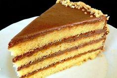 Торт со сгущёнкой фото рецепт