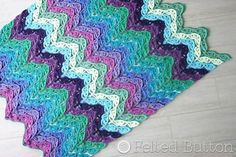 Dancing Waters Crochet Blanket