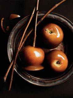 Caramel Apples - Donna Hay